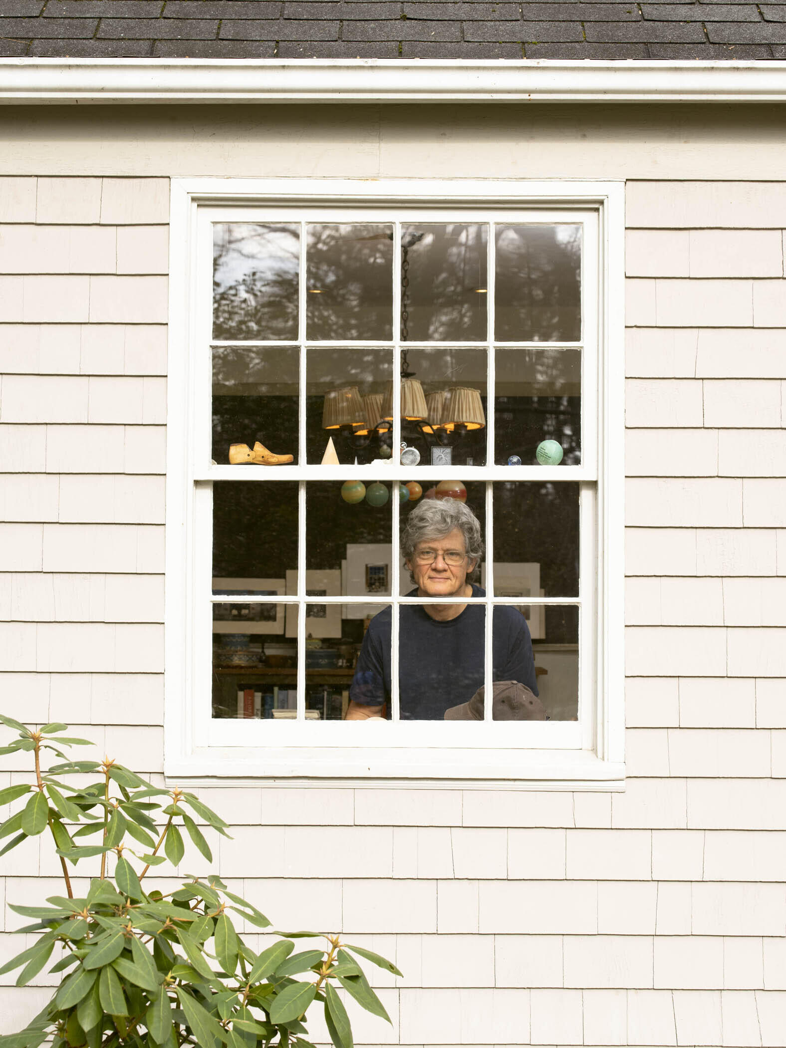 Photograph of the Artist at His Studio Window, 2020 image