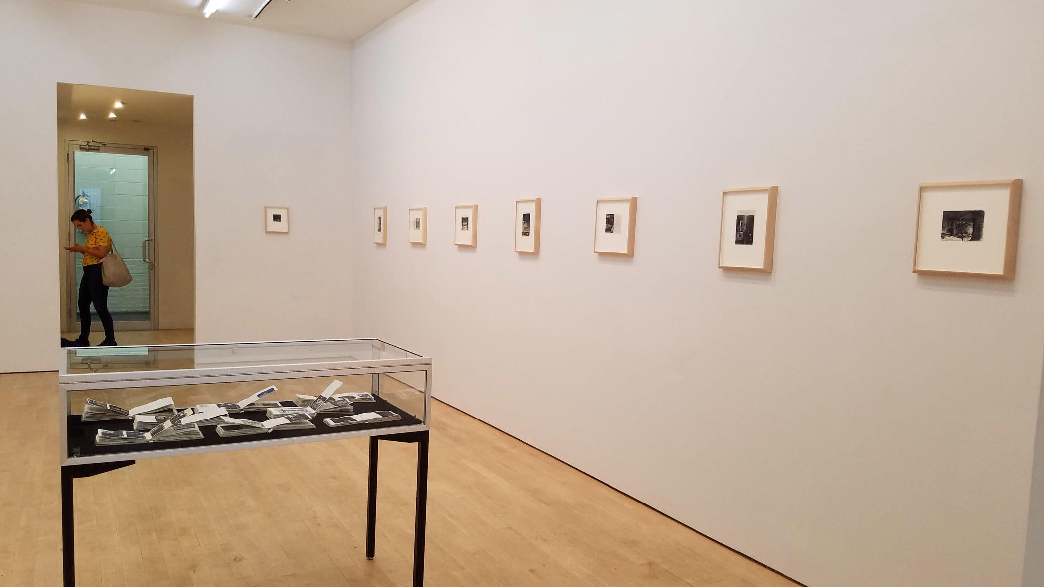 Photograph of the exhibition Charles Ritchie 16 Pages at BravinLee programs, New York, 7 September to 14 October 2017 image