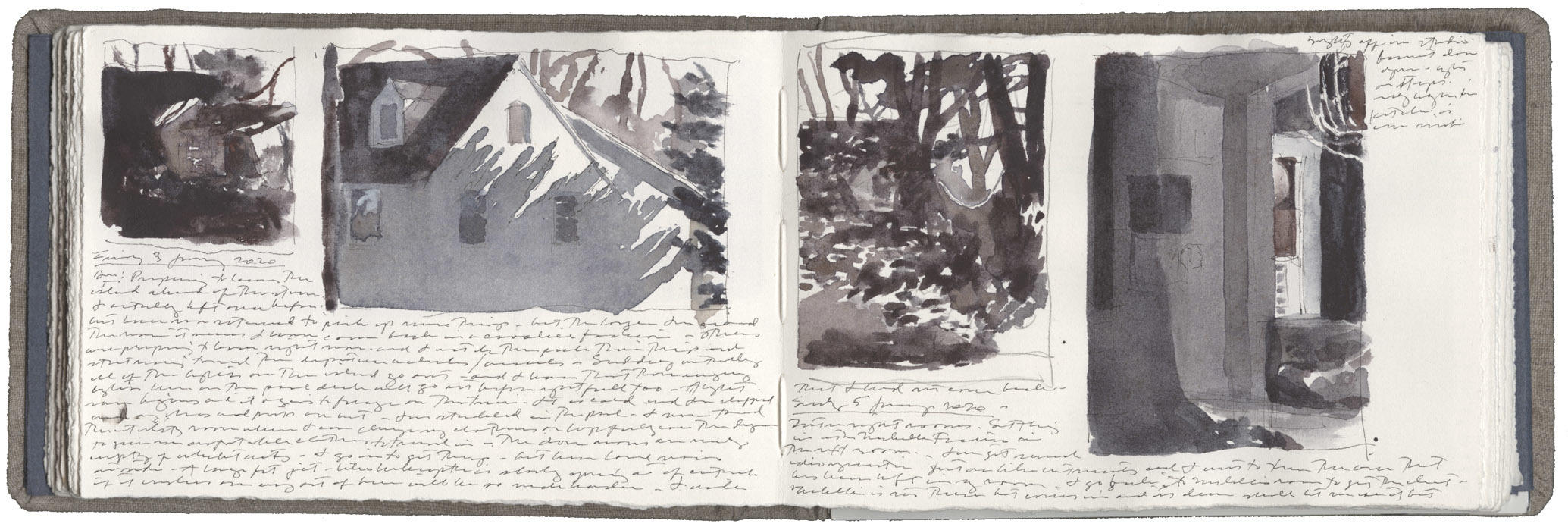 Four Studies of Winter Light image