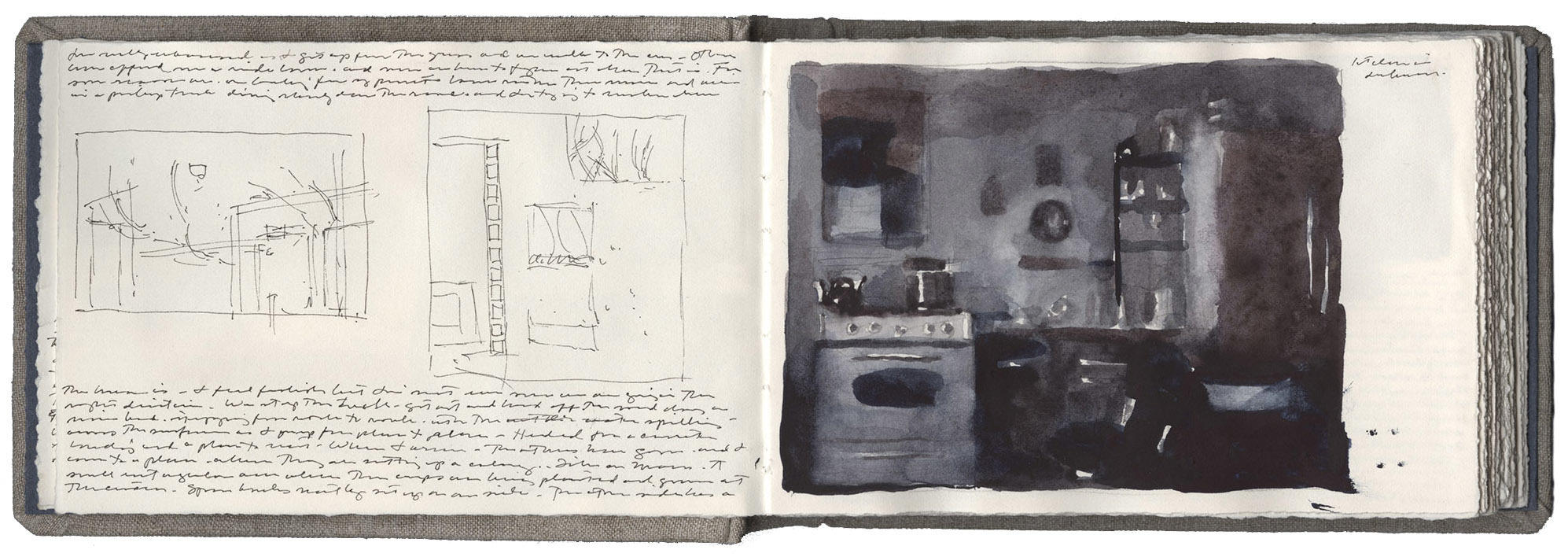 Studies with Kitchen in Darkness image
