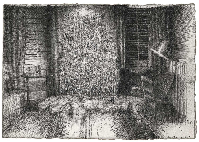 Christmas 1954 image