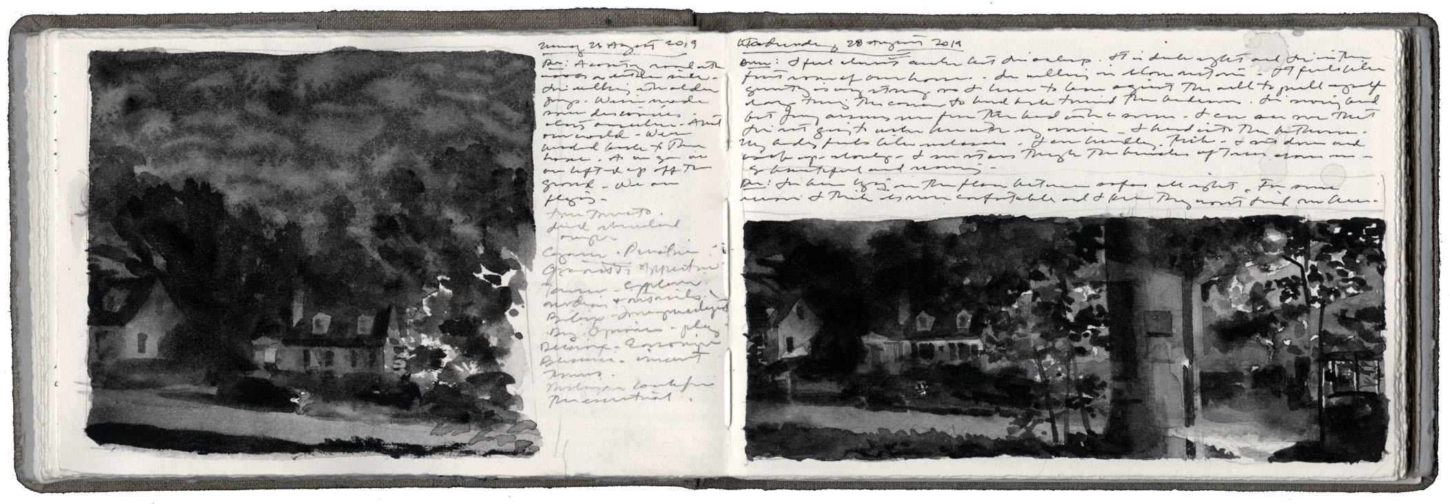 Studies of the Street in Black image