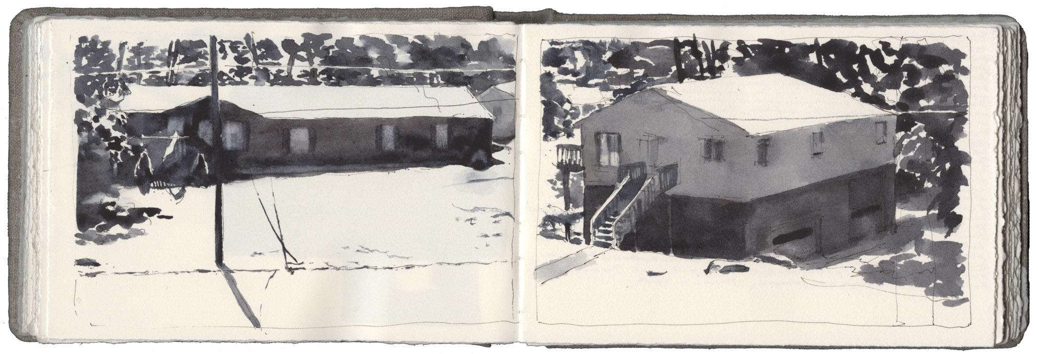 Studies of Houses in Sunlight image