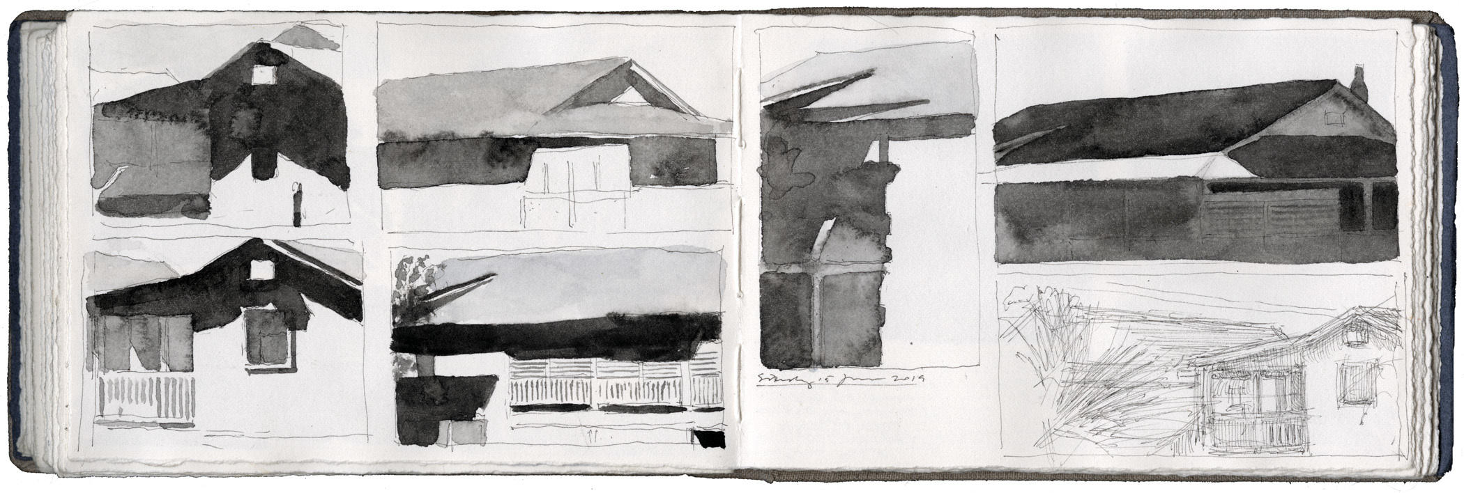 Studies of Beach House Shadows image