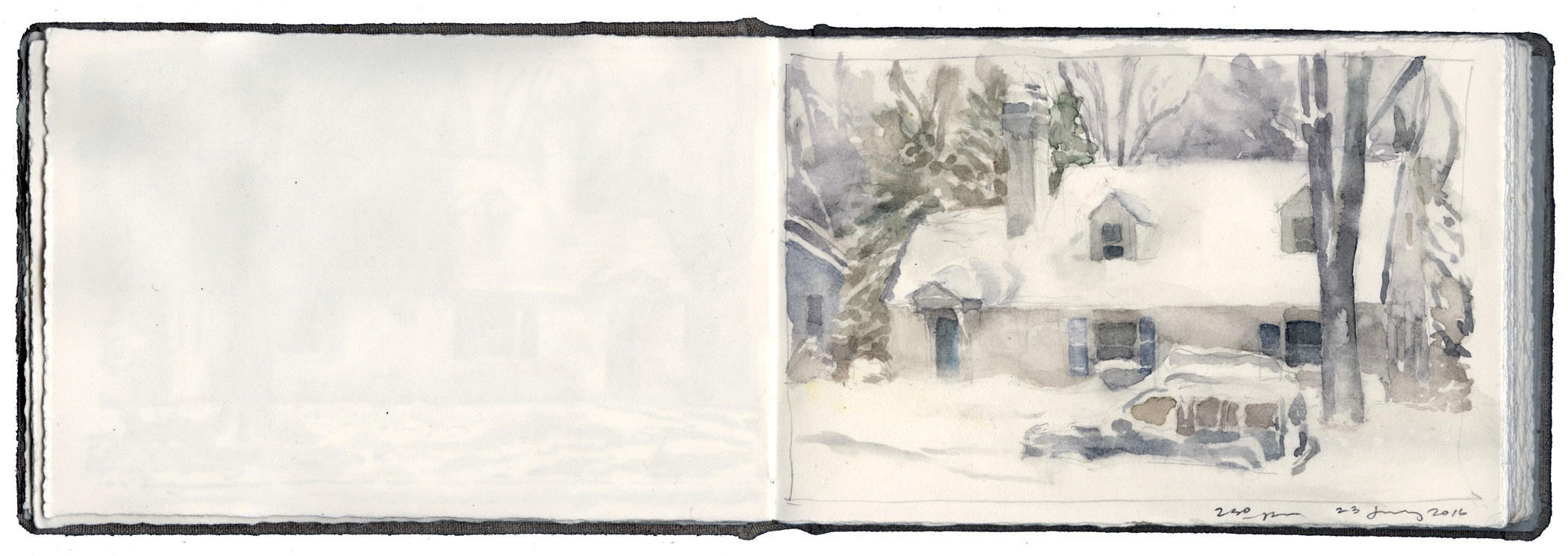 Study of Blowing Snow image