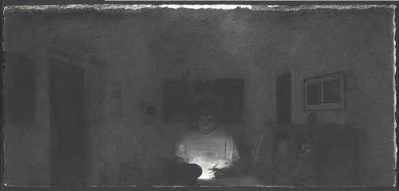 Self-Portrait with Night III image