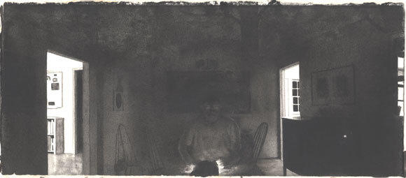Self-Portrait with Night II image