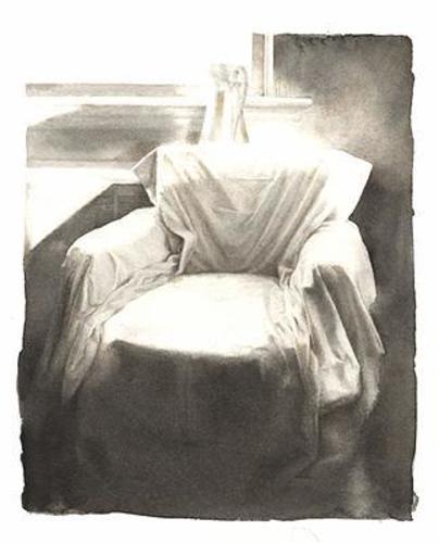 Draped Chair image