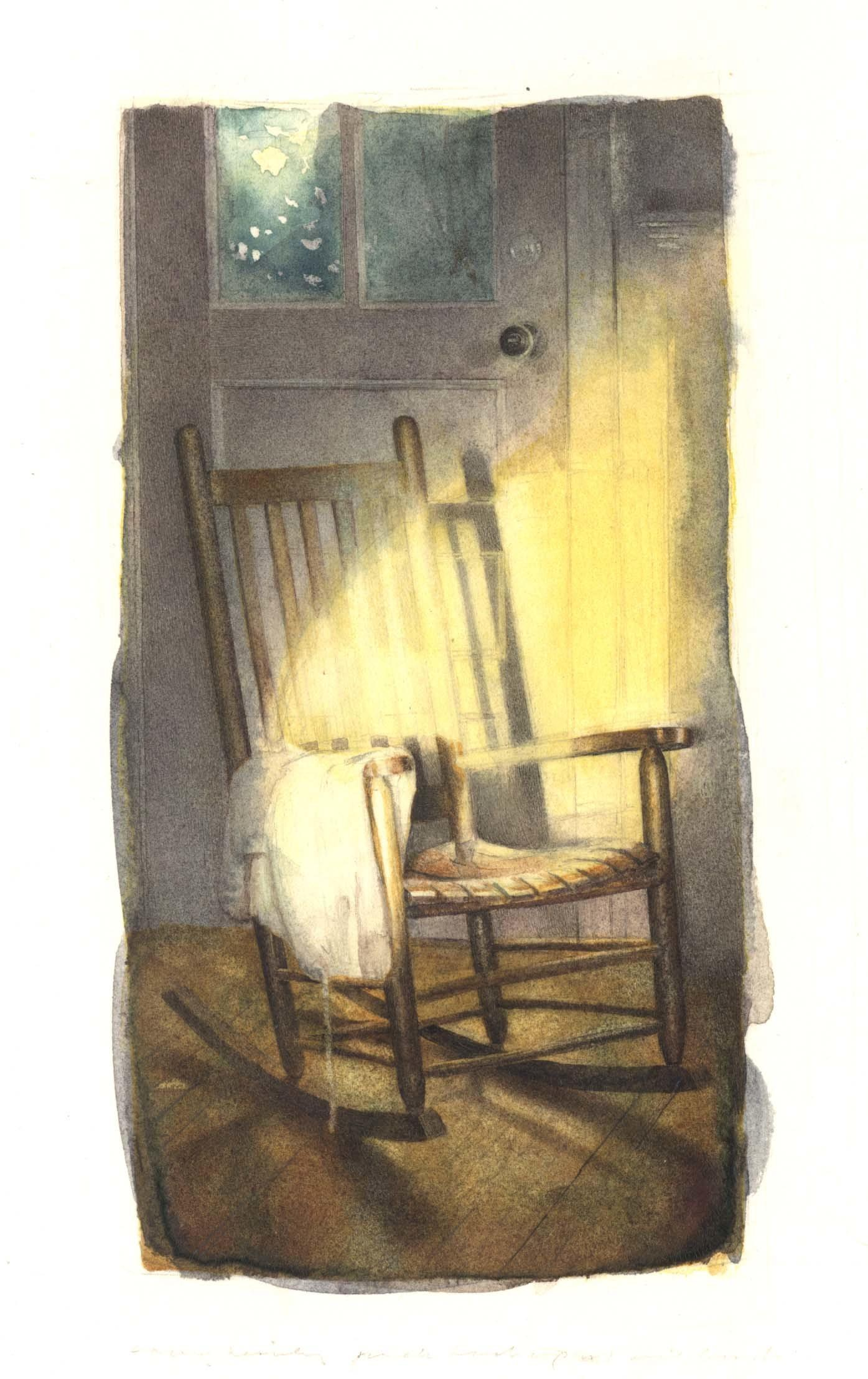 Rocking Chair in Sunlight image