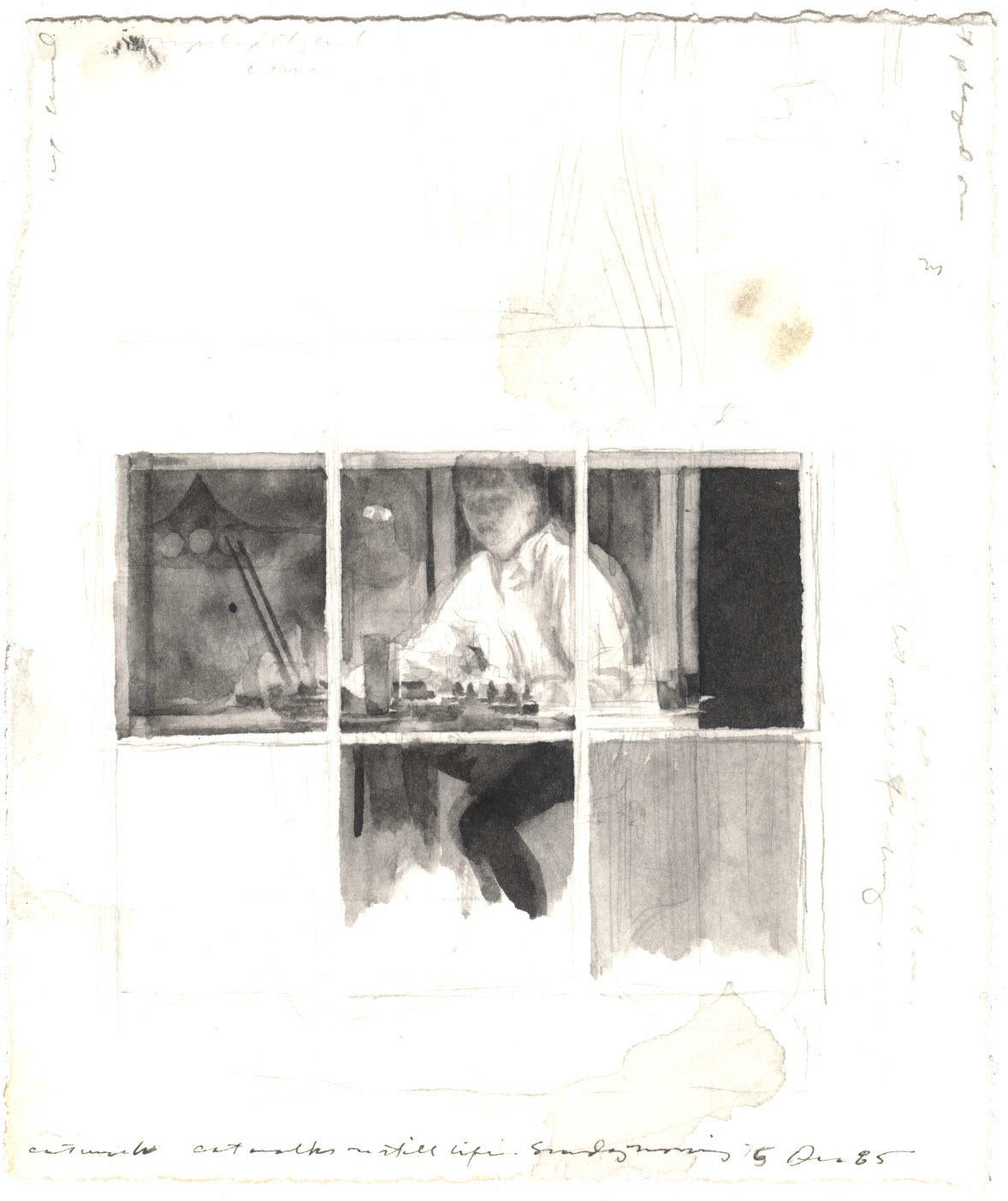 Self-Portrait: 5 December 1985 image