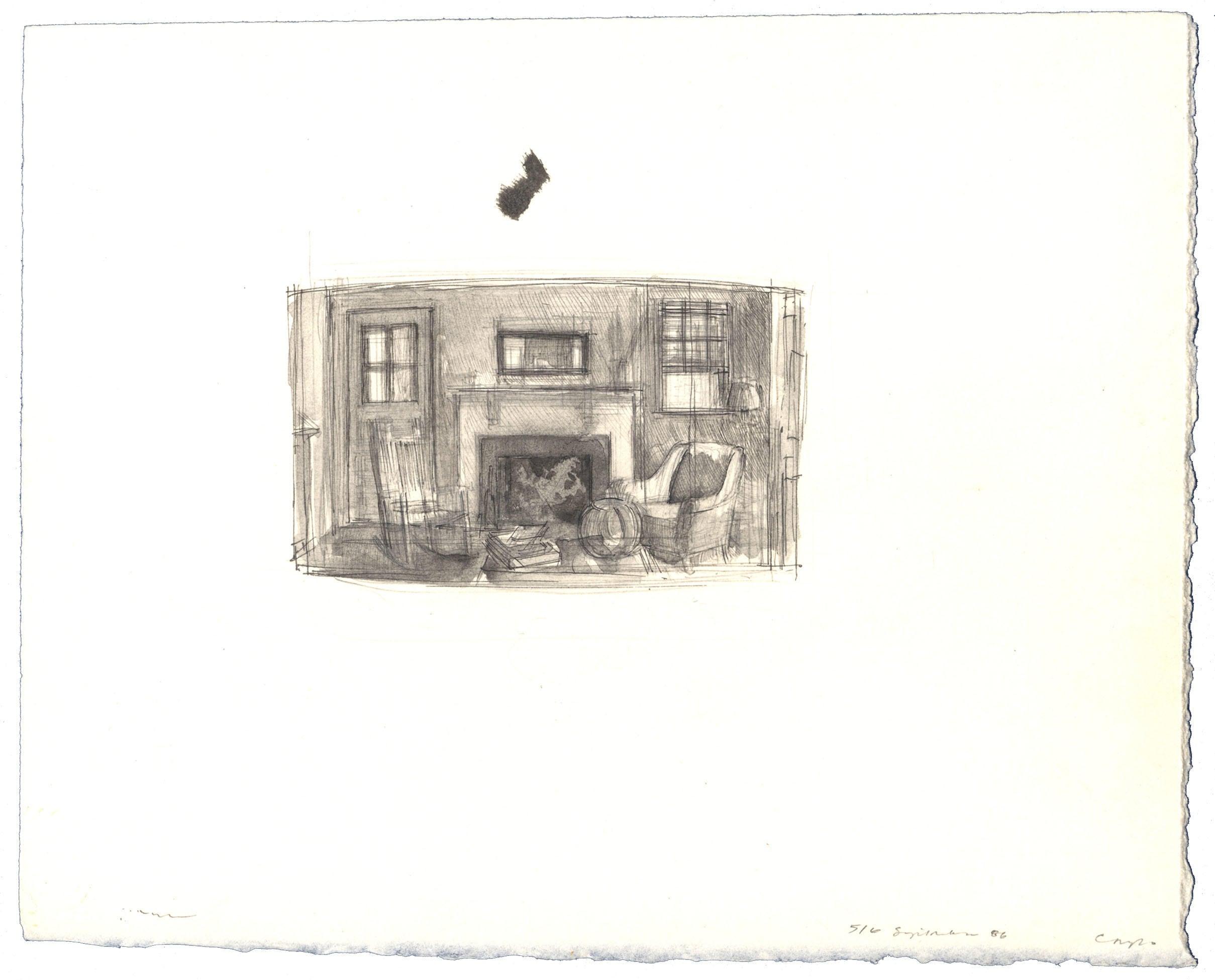 Day Interior: Study image