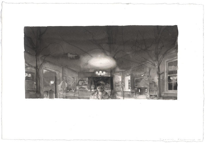 Study for Interior/Exterior: February - March 1987 image