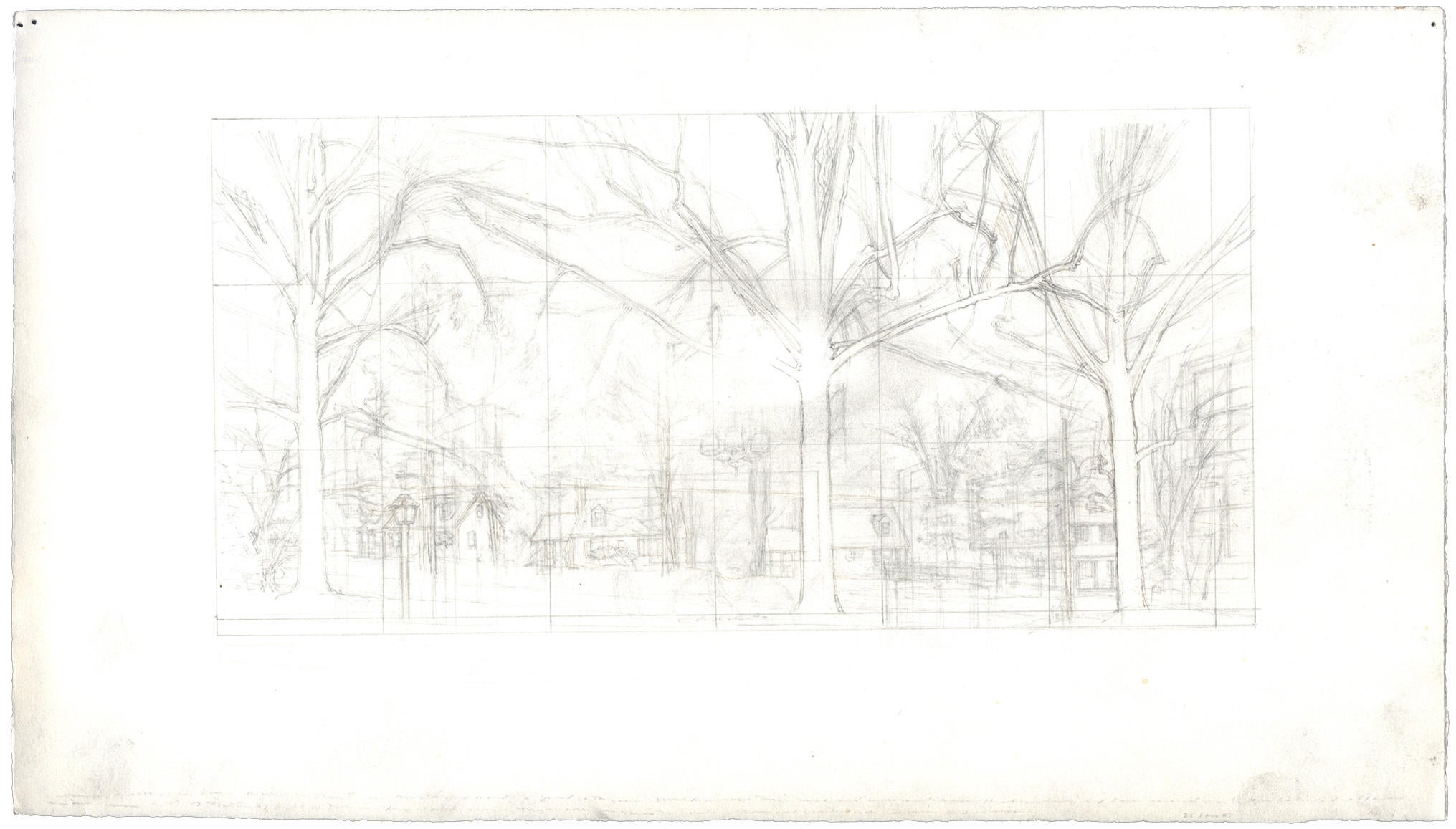 Study for Interior/Exterior: 25 January 1987 image