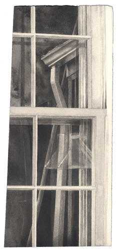 Window with Downspout image