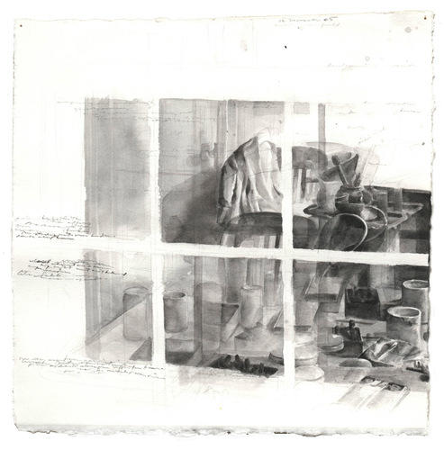 Reflected Worktable: 12 November 1985 image