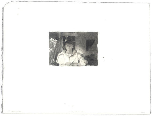 Self-Portrait: 10 March 1988 image