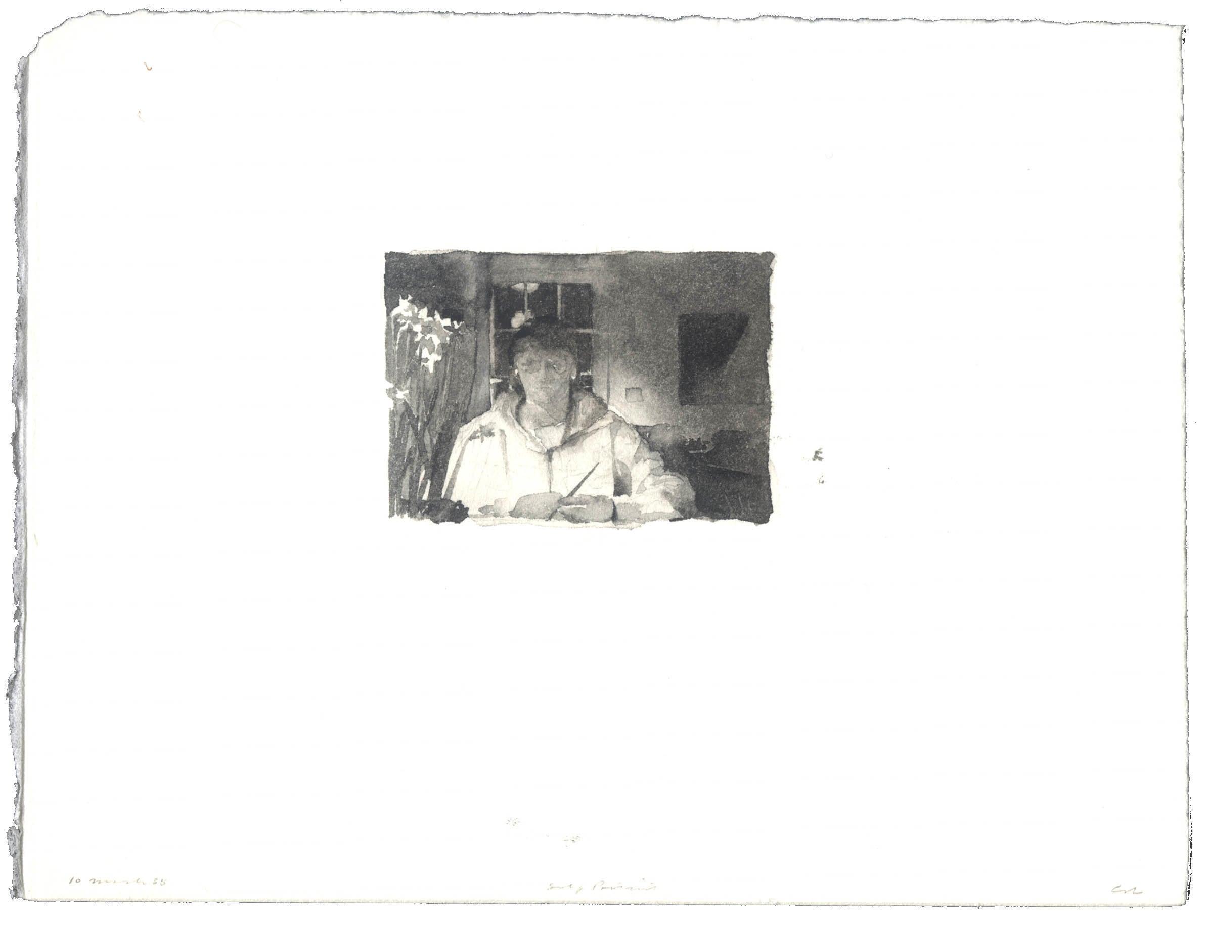 Self-Portrait: 10 March 1988 image