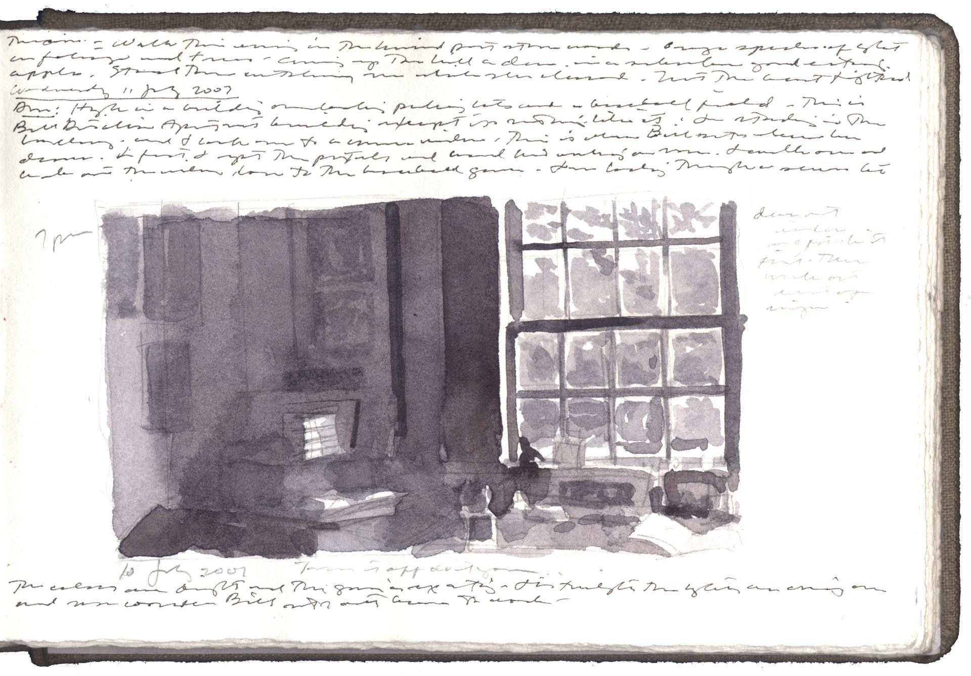 Study for Studio Corner with Journals image
