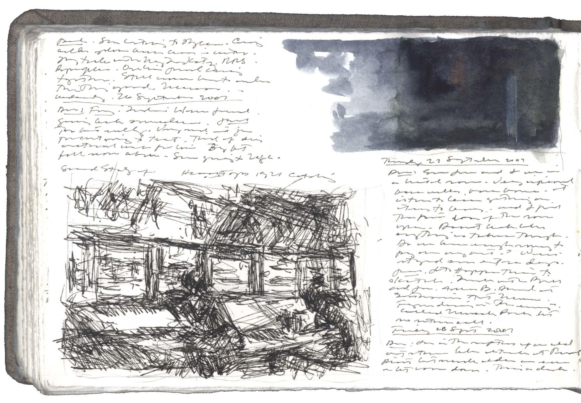 Study after  an Etching by Edward Hopper image