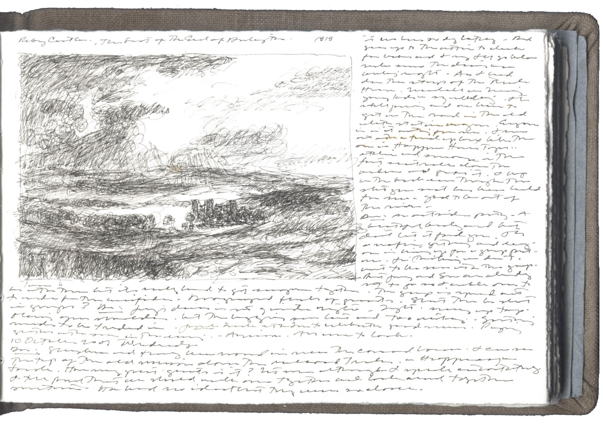 Sketch after a Painting by J.M.W. Turner image