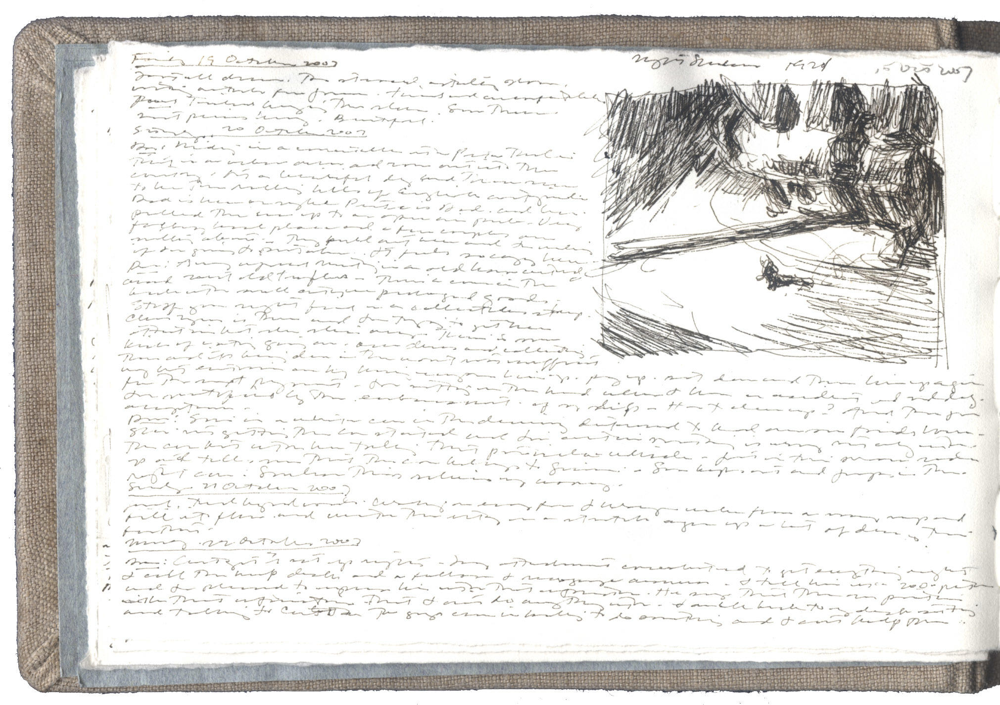 Sketch from a Print by Edward Hopper image