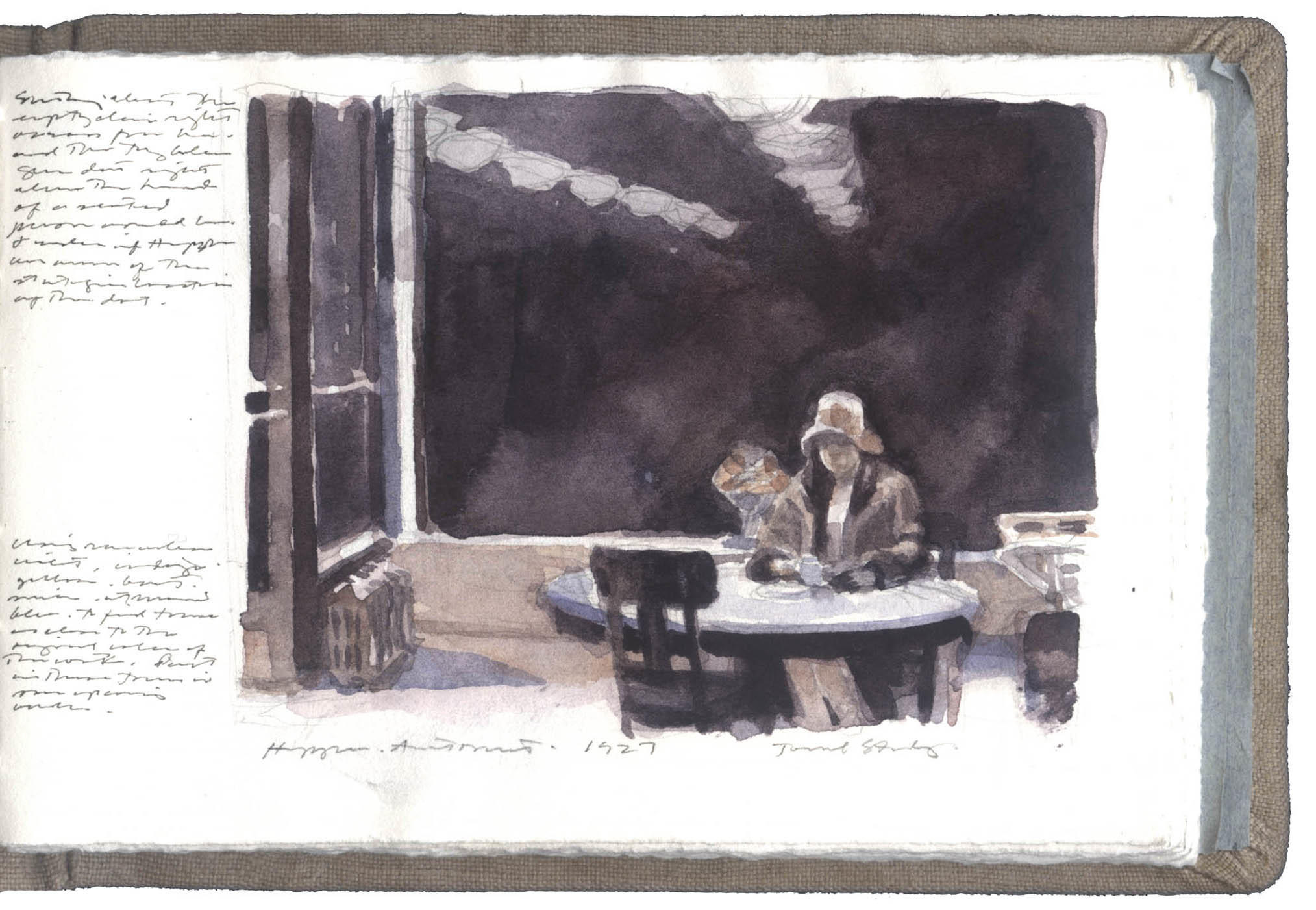 Study after a Painting by Edward Hopper image