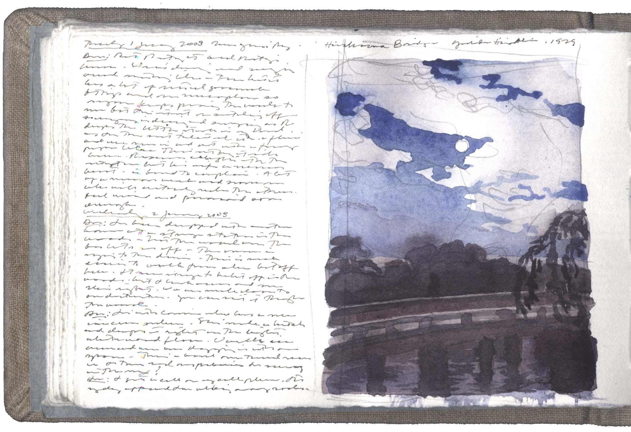 Study after a Print by Yoshida Hiroshi image