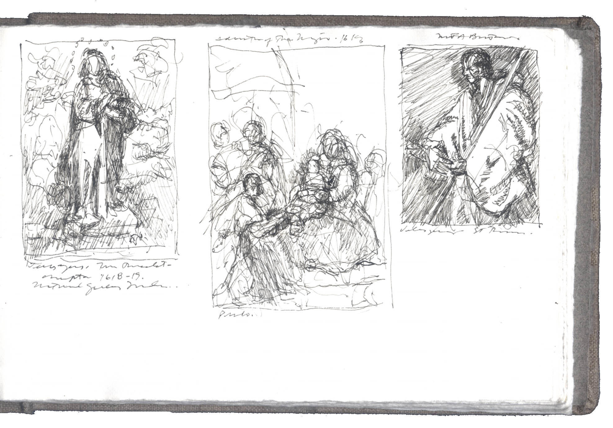 Three Sketches after Diego Velázquez image