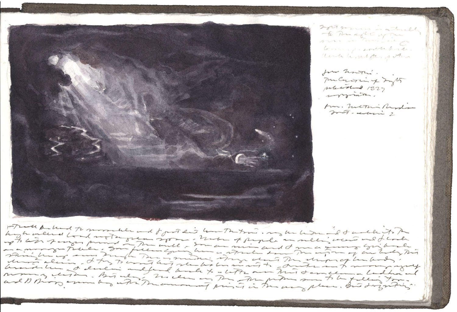 Study after a Mezzotint by John Martin image