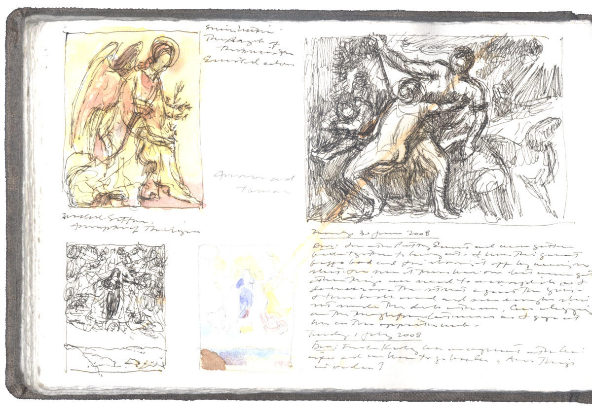 Studies after Three Paintings image