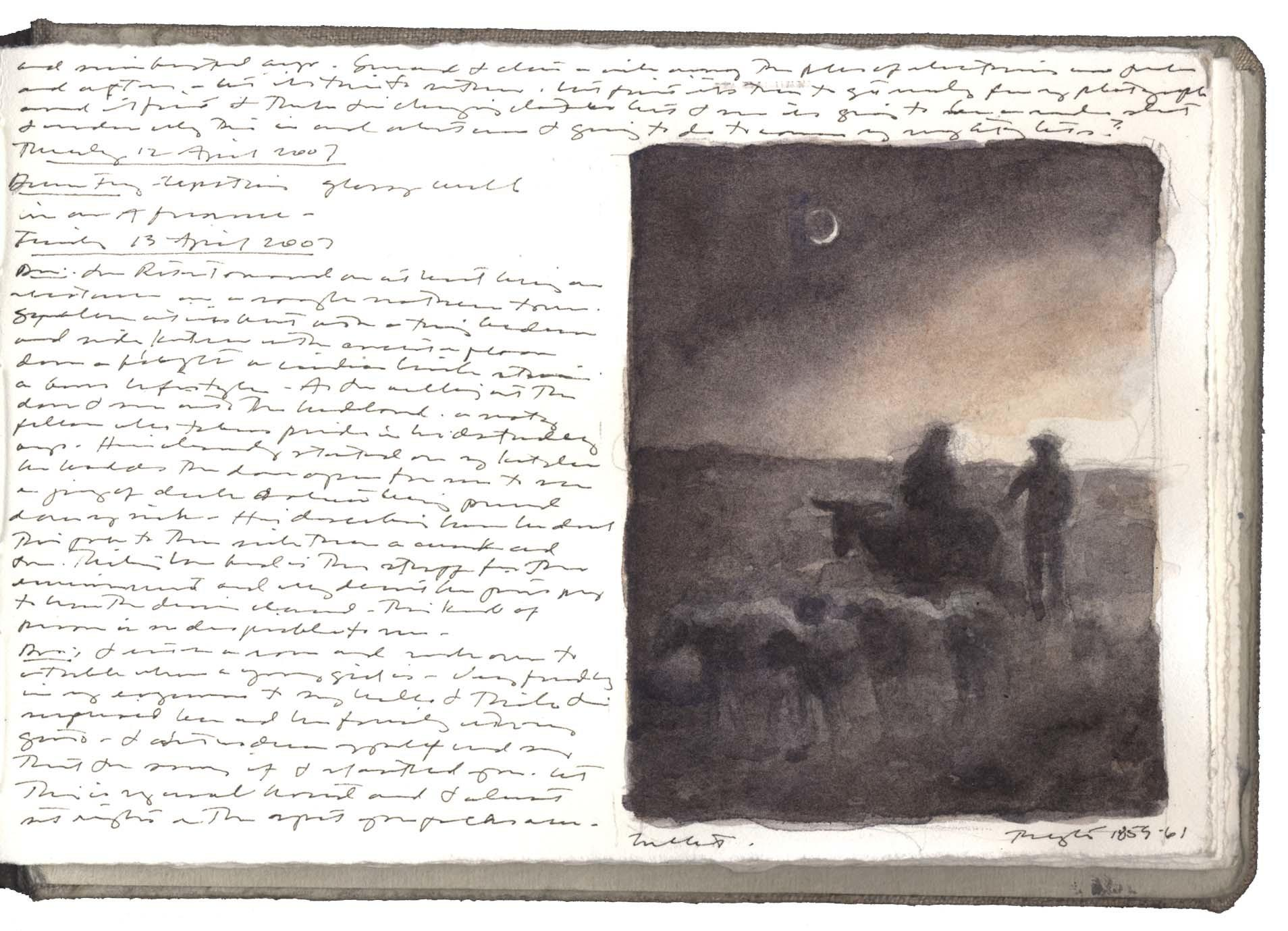 Study after a Drawing by Jean-François Millet image