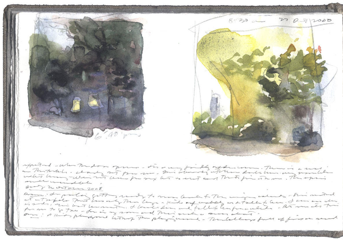 Two Studies: Evening and Morning image