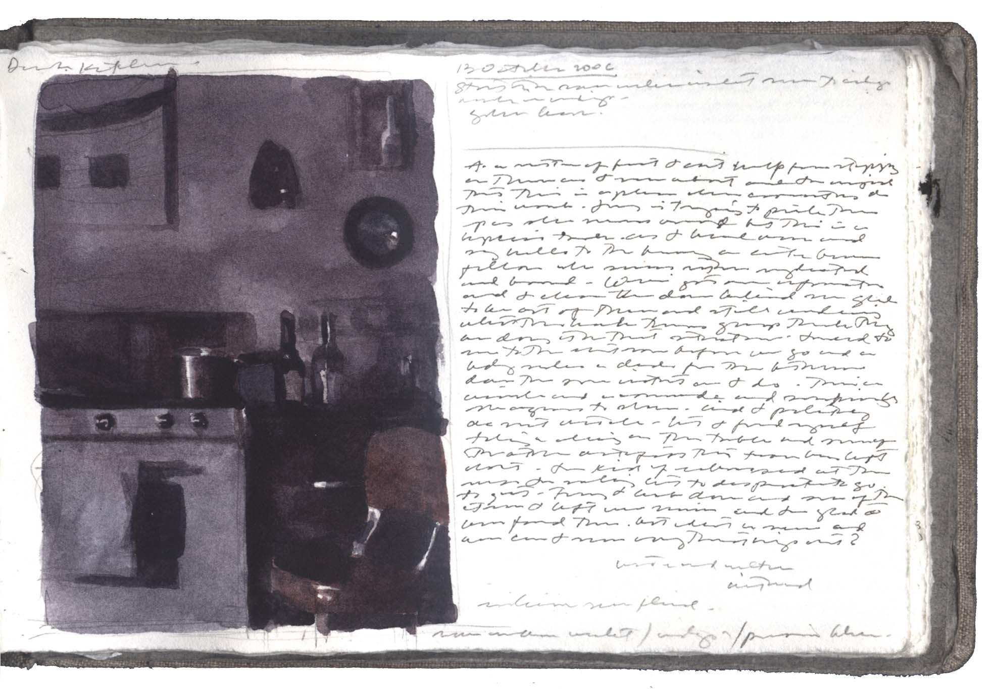 Study for Dark Kitchen image