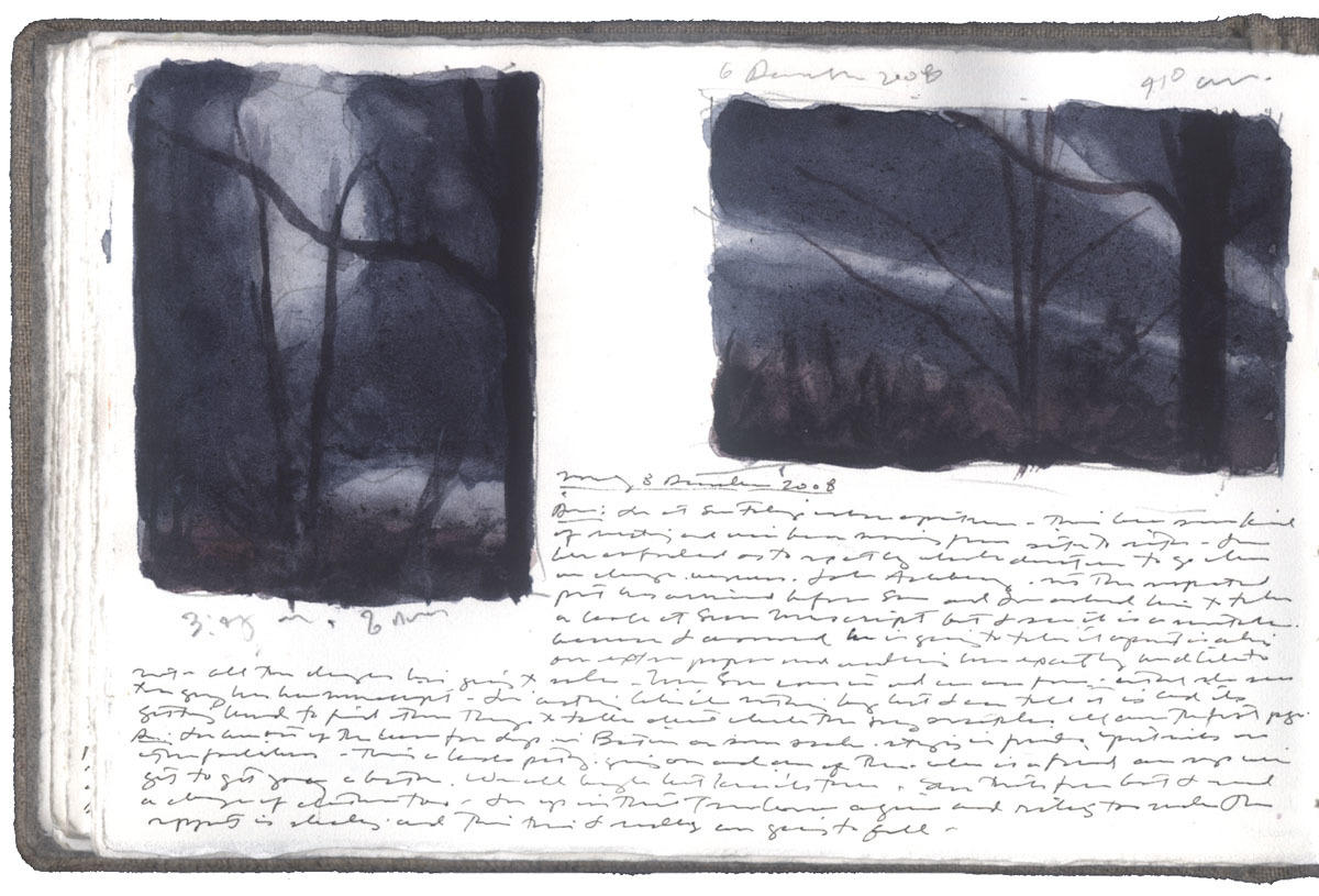 Studies of Night Sky with Clouds image