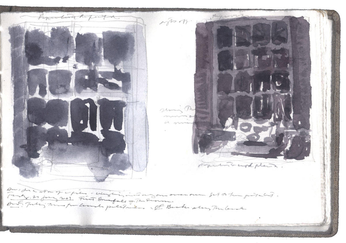 Two Studies of a Window image