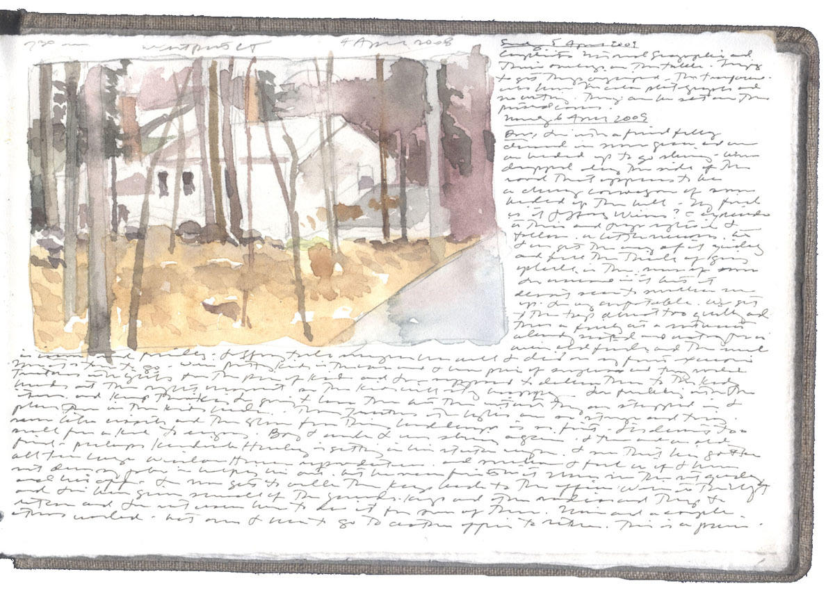 Study of a House at Westport image