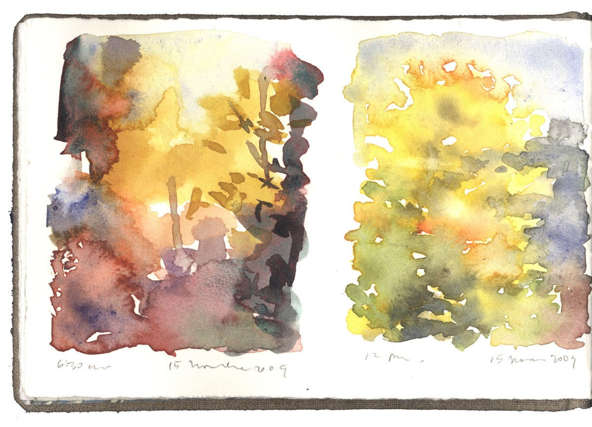 Two Studies of Fall Color image