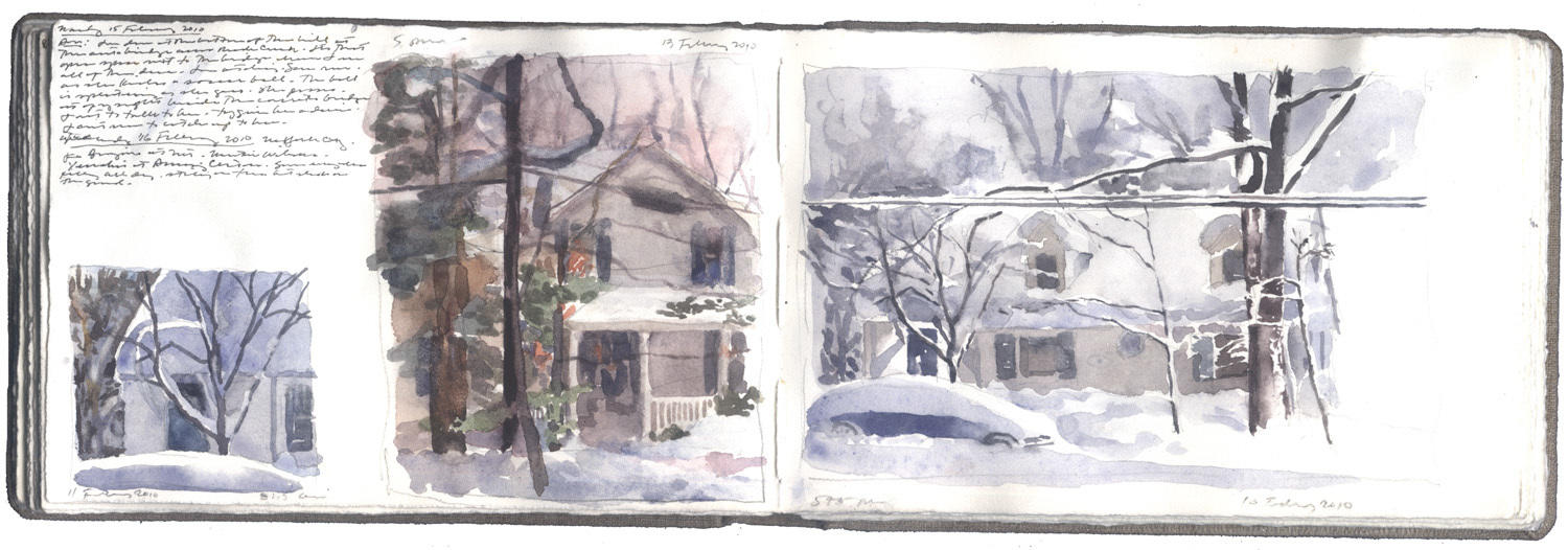 Two pages of Snow Studies image