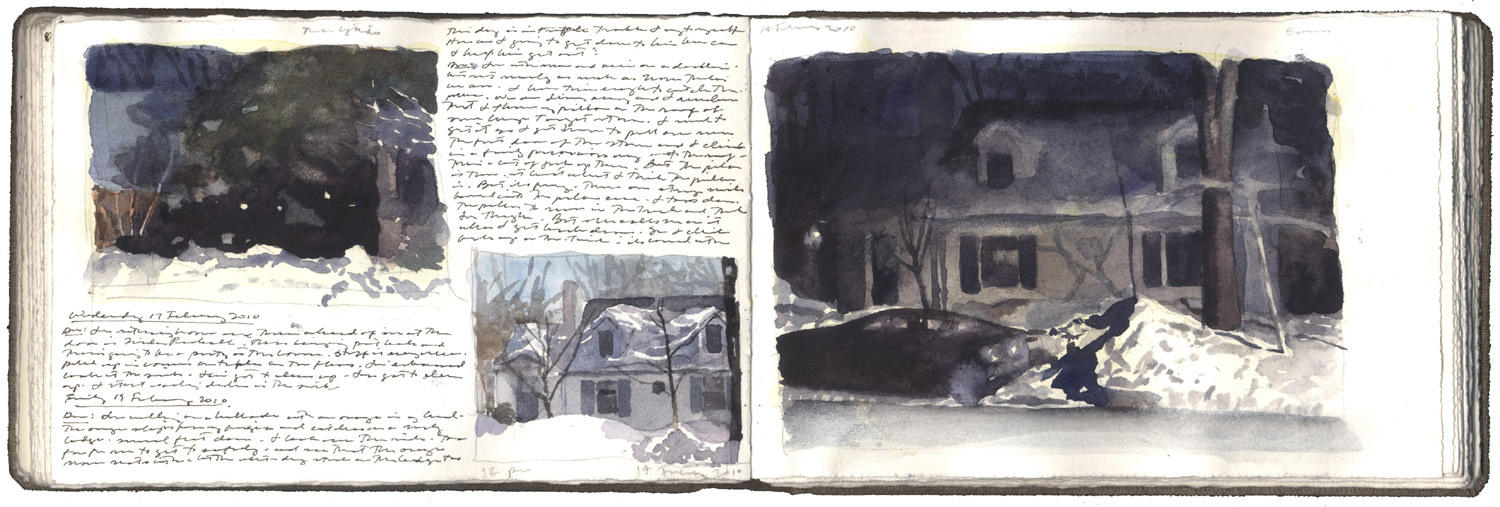 Three Snow Studies image