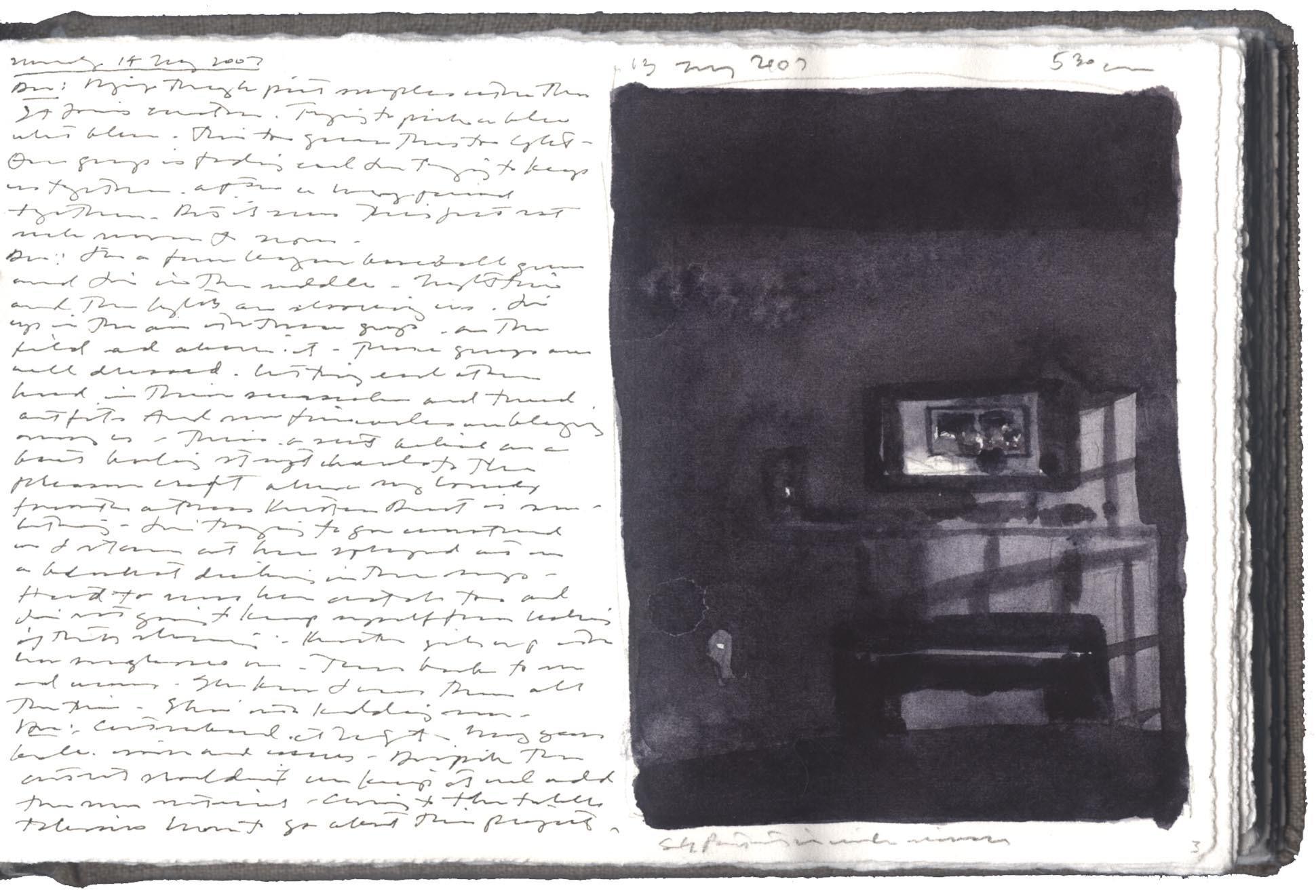 Interior with Self-Portrait image