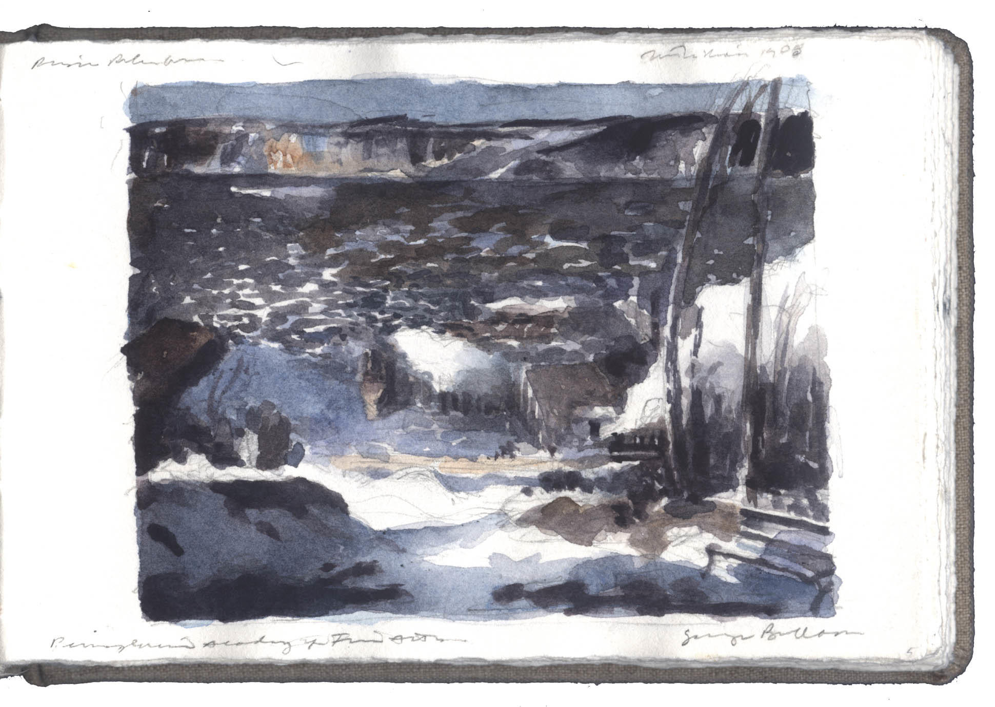 Study after a Painting by George Bellows image