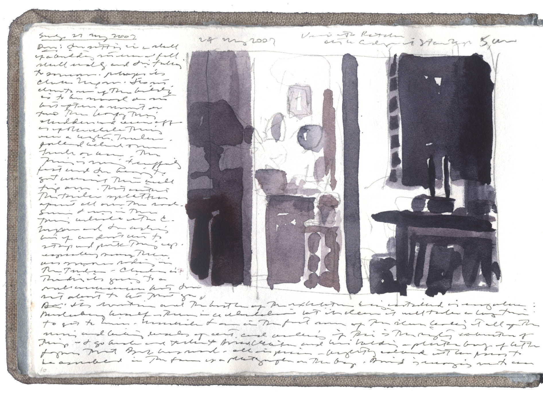 Study for Kitchen Doorway image