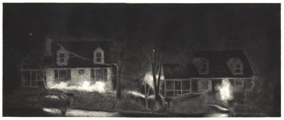 Two Houses: Night image