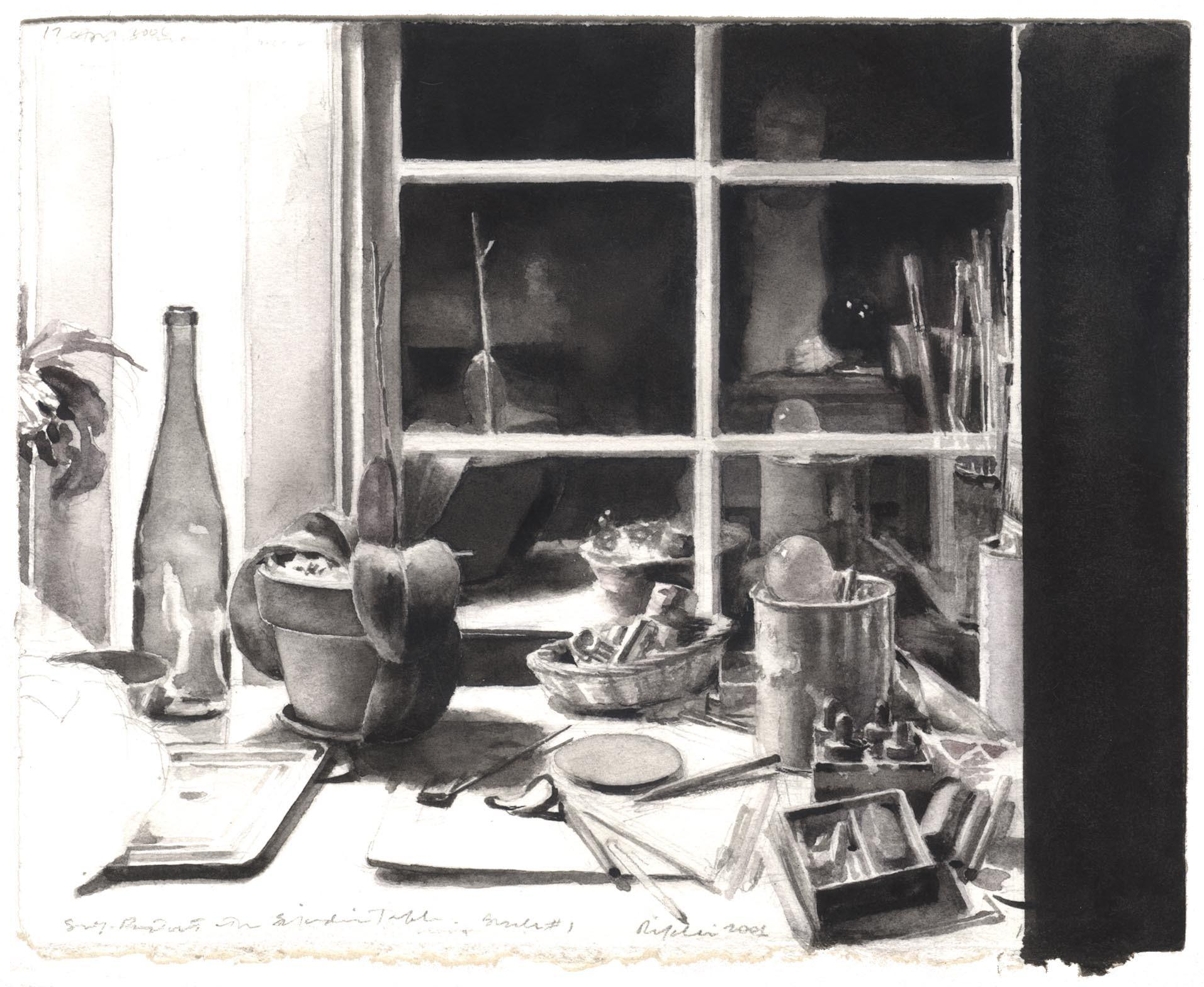Self-Portrait with Studio Table image