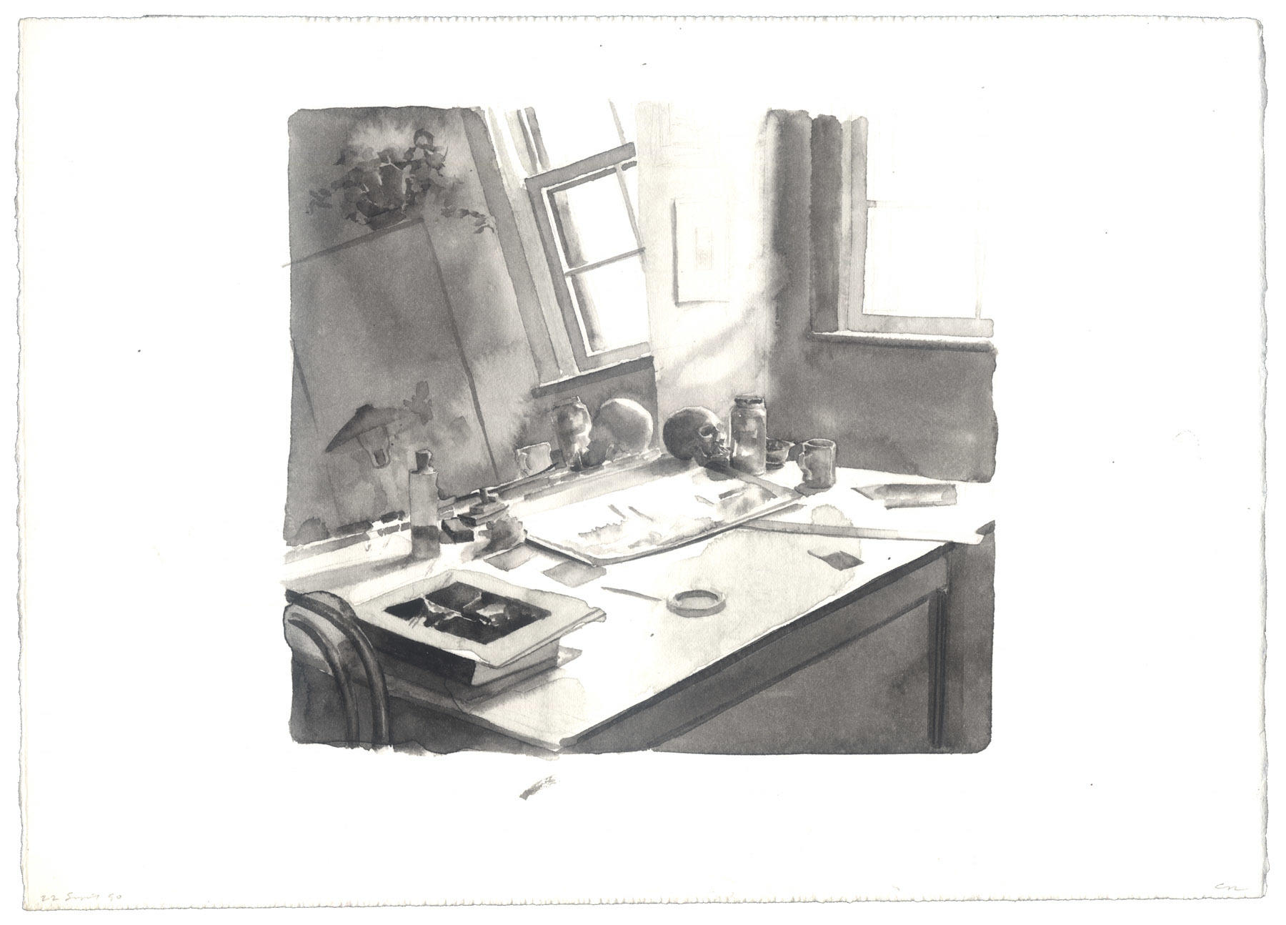 Worktable: 22 September 1990 image