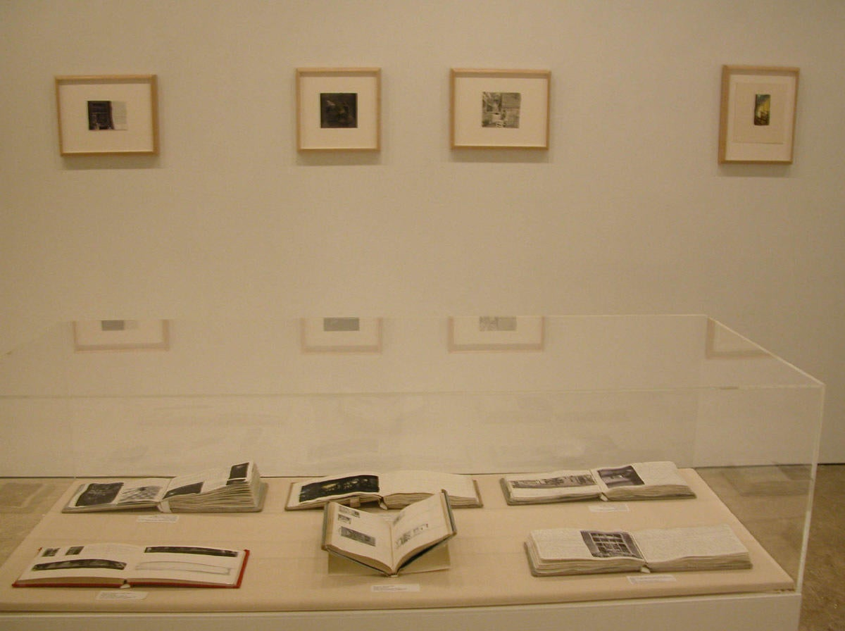Photograph of exhibition installation image