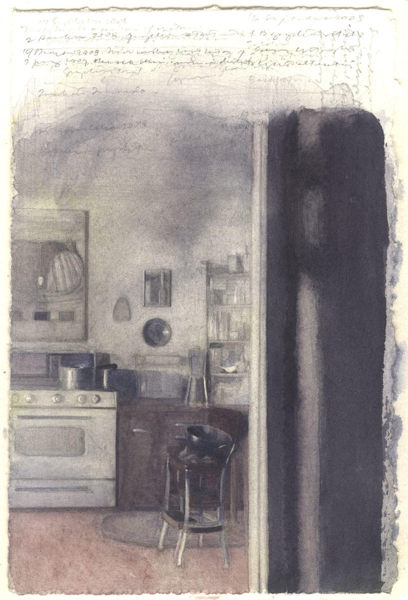 Kitchen in Shadows image