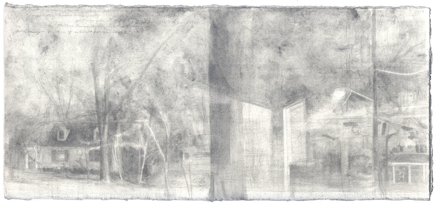 Landscape in Graphite II image