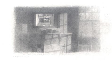 graphite on Arches paper
