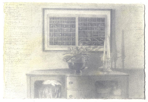 graphite and watercolor on Fabriano paper